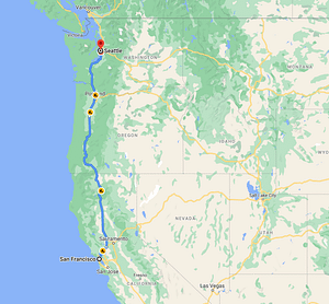 One way RV trip to seattle