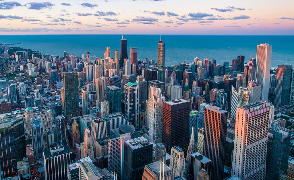 Skyline View of Chicago
