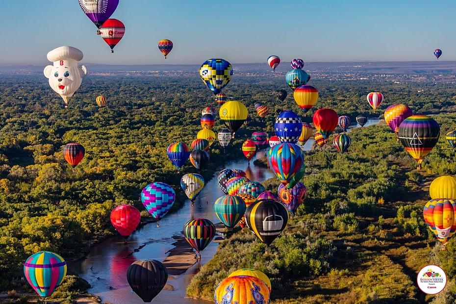 Albuquerque International Balloon Fiesta RVnGO