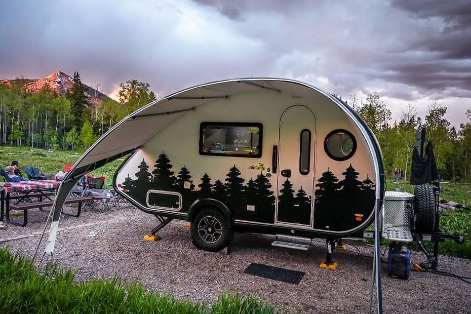 Teardrop Camper with bathroom RVnGO